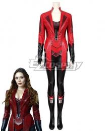 Marvel Captain America Civil War Scarlet Witch Wanda Maximoff B Cosplay Costume