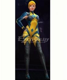 Marvel Future Fight Crystal Crystalia Amaquelin Royal Suit Halloween Cosplay Costume