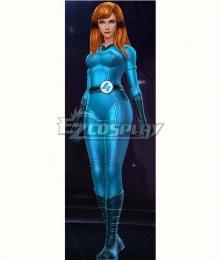 Marvel Future Fight Crystal Crystalia Amaquelin Fantastic Four Halloween Cosplay Costume