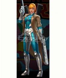 Marvel Future Fight Elsa Bloodstone Secret Wars: Marvel Zombies Halloween Cosplay Costume