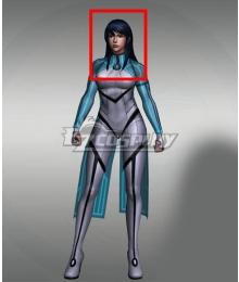 Marvel Future Fight Aero Blue Halloween Cosplay Wig