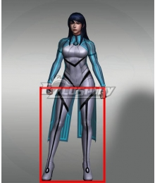 Marvel Future Fight Aero White Shoes Cosplay Boots