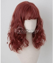 Japan Harajuku Lolita Series Raspberry Red Cosplay Wig