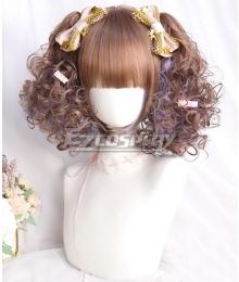 Japan Harajuku Lolita Series Haze Powder Pink Cosplay Wig