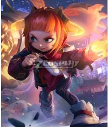 League of Legends LOL Lunar Beast Annie Hastur Cosplay Costume