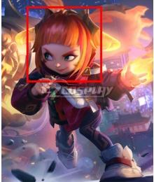 League of Legends LOL Lunar Beast Annie Hastur Cosplay Wig