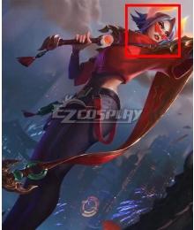 League of Legends LOL Lunar Beast Fiora Laurent Cosplay Wig
