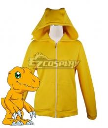 Digimon Adventure Agumon Digital Monster Sweater Cosplay Costume