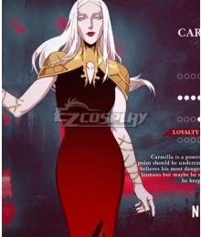 Netflix Castlevania Carmilla Cosplay Costume