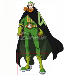 One Piece  Germa 66  Vinsmoke Yonji Green Shoes Cosplay Boots