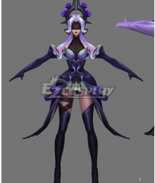 League Of Legends LOL Withered Rose Syndra Cosplay Costume