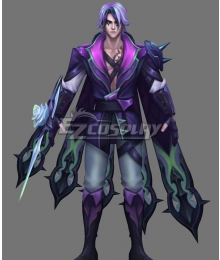 League Of Legends LOL Withered Rose Talon Cosplay Costume