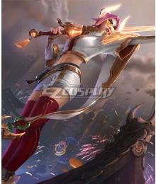 League of Legends LOL Lunar Beast Fiora Laurent Prestige Edition Cosplay Costume