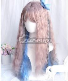 Japan Harajuku Lolita Series Magic flute Pink Cosplay Wig