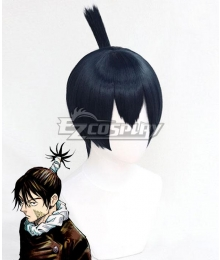 Jujutsu Kaisen Sorcery Fight Kokichi Muta Black Cosplay Wig