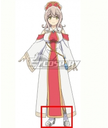 How NOT to Summon a Demon Lord Season 2 Lumachina Weselia Silver Cosplay Shoes
