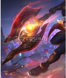 League of Legends LOL Lunar Beast Darius Axe Cosplay Weapon Prop
