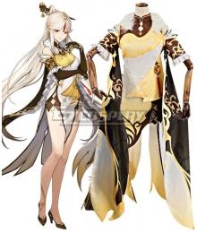 Genshin Impact Ningguang Cosplay Costume New Edition