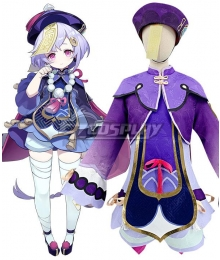 Genshin Impact Qiqi Cosplay Costume New Edition