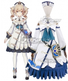 Genshin Impact Barbara Cosplay Costume New Edition
