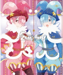 Re: Life In A Different World From Zero Rem Joker Cosplay Costume