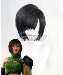 Final Fantasy VII Remake Intergrade FF7 Yuffie Kisaragi Black Cosplay Wig