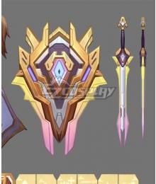 League Of Legends LOL Battle Academia Leona Prestige Weapon Prop