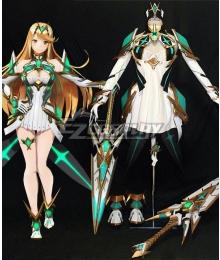 Xenoblade Chronicles 2 Mythra Armor Shoes Sword Fullset Cosplay Costume