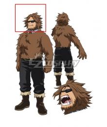 My Hero Academia Season 5 Jurota Shishida Brown Cosplay Wig