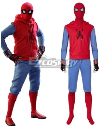 Marvel Spiderman Spider-Man : Homecoming Peter Parker Cosplay Costume
