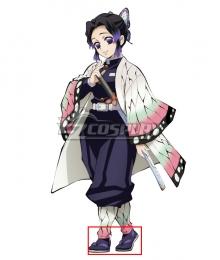Demon Slayer: Kimetsu No Yaiba Kochou Shinobu Purple Shoes Cosplay Boots