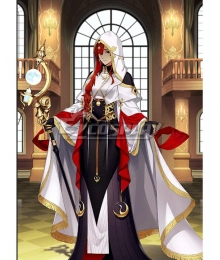 Fate Grand Order FGO Caster Miss Crane Stage 1 Cosplay Costume