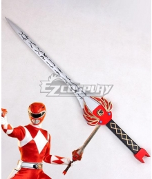 Mighty Morphin Power Rangers Red Ranger Power Sword Cosplay Weapon Prop