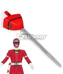 Power Rangers Turbo Red Turbo Ranger Turbo Lightning Sword Cosplay Weapon Prop