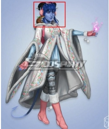 Critical Role Jester Lavorre Lv13 Blue Cosplay Wig