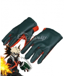 My Hero Academia Boku no Hero Akademia Katsuki Bakugou Gloves Cosplay Accessory Prop