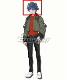 Mobile Suit Gundam SEED Eclipse Hori Tatsumi Blue Cosplay Wig