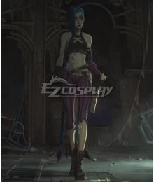 League of Legends LOL Arcane Jinx Cosplay Costume