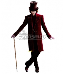 Charlie and the Chocolate Factory Willy Wonka Halloween Cosplay Costume