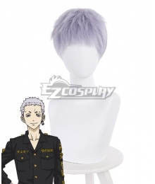 Tokyo Revengers Takashi Mitsuya Purple Cosplay Wig