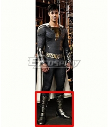 DC Shazam! Fury Of The Gods Eugene Choi Silver Shoes Cosplay Boots