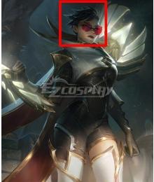 League of Legends LOL Sentinel Vayne Black Cosplay Wig