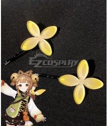 Genshin Impact Yaoyao Headwear Hairpin Cosplay Accessory Prop