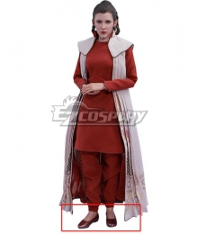 Star Wars Princess Leia Bespin Red Cosplay Shoes