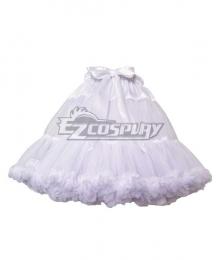 Lolita Dress Women's Disney Princess Dress Petticoat Pannier Crinoline Dress Pannier Cosplay Accessory Prop