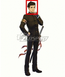 The Great Ace Attorney Chronicles The Ancestral Ace Attorney Ryunosuke Naruhodo Black Cosplay Wig