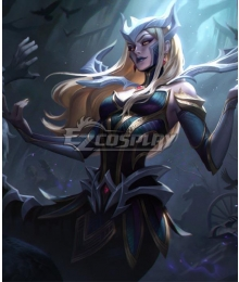 League of Legends LOL Coven Cassiopeia Cosplay Costume