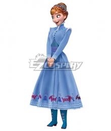 Disney Olaf's Frozen Adventure Anna Halloween Cosplay Costume