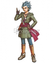 Dragon Quest XI: Echoes of an Elusive Age DQ11 Erik Camus Cosplay Costume