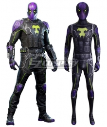 PS5 Marvel 2021 Spider-Man: Miles Prowler Cosplay Costume